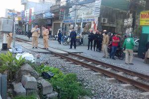 Hà Nội: Người đàn ông bị tàu hỏa cán tử vong do đi qua đường sắt không quan sát