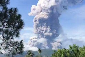 Đảo Sulawesi hứng chịu núi lửa phun trào sau thảm họa động đất và sóng thần