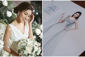 Trước hôn lễ, cùng ngắm nhìn thiết kế chủ đạo sẽ được Lan Khuê diện trong ngày trọng đại của mình