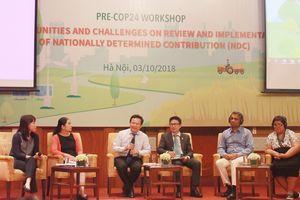 Hội nghị COP 24: Kỳ vọng nâng cao mức cam kết giảm phát thải