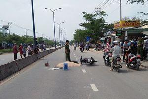 Tránh xe buýt, thanh niên bị xe tải cán tử vong ở Bình Chánh