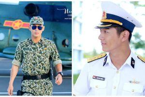 Hình ảnh đốn tim fans của Song Luân khi diện quân phục