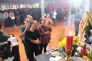 Quảng Trị: Tổ chức trọng thể Lễ truy điệu, an táng 36 bộ hài cốt liệt sỹ