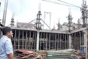 Đình chỉ thi công công trình xây dựng sai phép