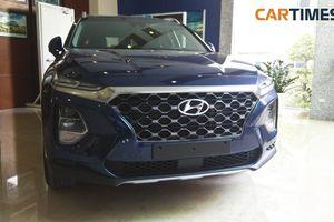 Hyundai Santa Fe 2019 bất ngờ lộ thông số kĩ thuật tại thị trường Việt Nam