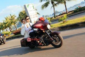 'Tranh cãi' rước dâu bằng moto khủng ở Quảng Ninh có bị phạt nguội?