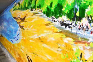 Đà Nẵng tháo dỡ 2 bức tranh đẹp nơi công cộng vì bị bôi bẩn