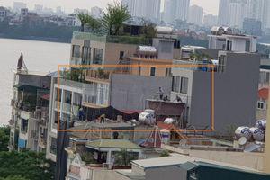 Hà Nội: Thành phố đã chỉ đạo dừng, công trình xây dựng vẫn âm thầm hoàn thiện?