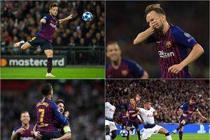 Messi lập cú đúp, Barca gieo sầu 'Gà trống' ngay tại Wembley