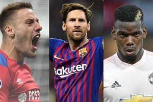 'Vua phá lưới' Champions League 2018/2018: Messi dẫn đầu tuyệt đối