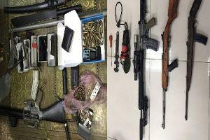 Bắt 'lái súng' 9X, thu giữ số lượng lớn tang vật