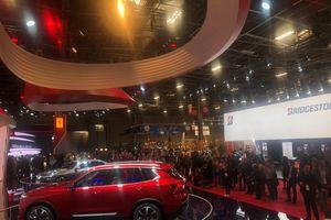 Xe VinFast tiếp tục thu hút chú ý ở Paris MotorShow 2018