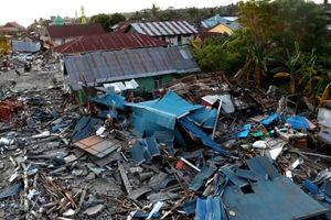 Động đất - sóng thần tại Indonesia: Số người thiệt mạng tăng lên gần 1.600 người