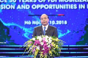 30 năm thu hút FDI: Nâng tầm hợp tác
