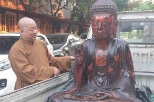 Tìm thấy pho tượng quý hiếm bị mất trộm ở Hưng Yên