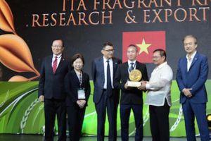 Gạo thơm ITARICE đạt chứng nhận Golden AGROW