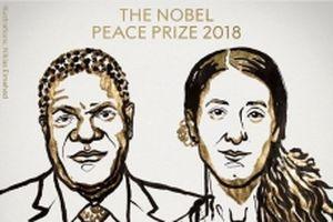 Nobel Hòa bình 2018 tôn vinh nỗ lực chống bạo lực tình dục trong chiến tranh