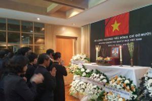 Lễ viếng nguyên Tổng Bí thư Đỗ Mười tại Thái-lan