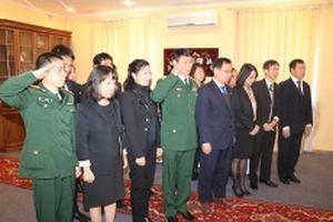 Đại sứ quán Việt Nam tại Ukraine tổ chức lễ viếng nguyên Tổng Bí thư Đỗ Mười