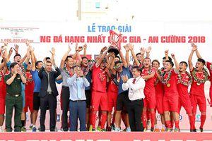 Viettel chính thức lên V-League, CAND rớt xuống Giải Hạng nhì