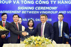 Vietnam Airlines và Vingroup bắt tay xây dựng sản phẩm hàng không du lịch chung
