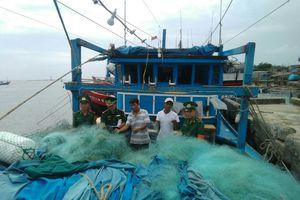 Phát hiện tàu cá bị kẻ gian đánh cắp