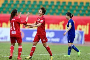 Giải nữ VĐQG 2018: Hà Nội vô địch lượt về