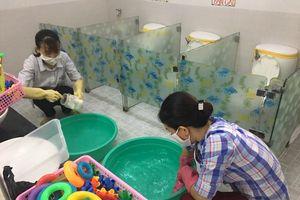 Khẩn trương phòng chống bệnh lây nhiễm trong trường học