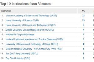 Viện Hàn lâm khoa học công nghệ Việt Nam dẫn đầu về nghiên cứu khoa học