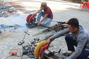 Tiêu hủy hơn 500 khẩu súng tự chế và vật liệu nổ