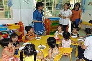 Xuất hiện ổ dịch tay chân miệng tại trường mầm non ở Sài Gòn