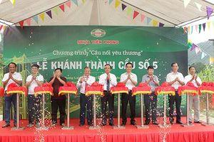 Công trình mới mang lại cuộc sống tốt hơn cho người dân xã Bình Thuận