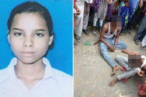 Nữ sinh Ấn Độ bị những kẻ định cưỡng hiếp dùng khăn quàng treo lên cây