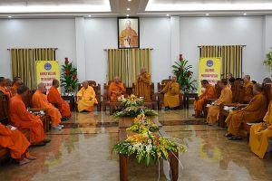 Đoàn phật tử Việt kiều tại Thái Lan thăm Học viện Phật giáo TP Hồ Chí Minh