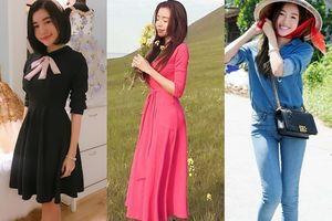 Chẳng cần phải hở hang, Elly Trần vẫn cuốn hút ánh nhìn khi diện trang phục kín đáo