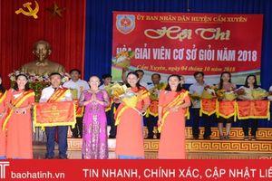 Cẩm Xuyên, Lộc Hà chung kết hội thi hòa giải viên cơ sở giỏi