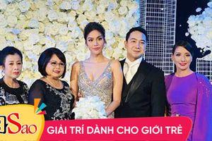 Lộ diện người phụ nữ quyền lực lấn át cô dâu Lan Khuê trong tiệc cưới