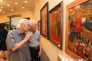 Trưng bày 250 tác phẩm mỹ thuật về phong cảnh, con người Hà Nội