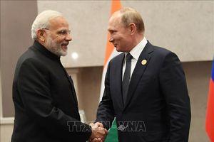 Lãnh đạo Ấn Độ, Nga khẳng định quan hệ song phương phát triển vững mạnh