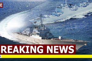 Biển Đông: Chiến hạm dồn dập tập trận thách thức yêu sách phi lý của Trung Quốc