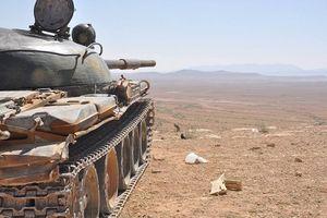 Quân đội Syria ác chiến chiếm một số trận địa IS tại 'nồi hầm' Al-Safa, Sweida