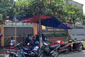 Người dân vẫn bao vây, nhà máy thép Đà Nẵng điêu đứng