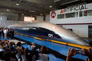Thêm một mẫu tàu siêu tốc hyperloop 1.200km/h được trình làng