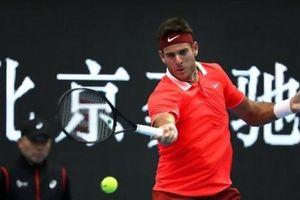Del Potro hủy diệt đối thủ ở China Open, Nishikori thẳng tiến vào bán kết trên quê nhà