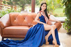 Á khôi có vòng ba 1 mét - Huỳnh Vy đại diện Việt Nam dự thi 'Miss Tourism Queen Worldwide 2018'