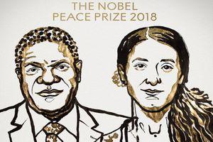 Nobel Hòa Bình 2018 vinh danh hai nhà hoạt động chống bạo lực tình dục