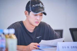 Kim Hyun Joong đẹp nao lòng bên Ahn Ji Hyun và In Gyo Jin tại buổi đọc kịch bản 'When Time Stopped'