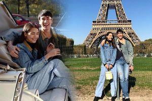 Nadech và Yaya hẹn hò hạnh phúc nơi trời Pháp