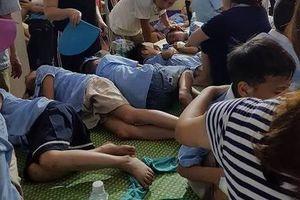 Ninh Bình: Hàng trăm học sinh tiểu học nghi bị ngộ độc sau bữa ăn trưa