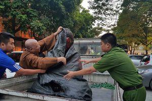 Hưng Yên: Tìm được tượng cổ 700 tuổi của chùa Pháp Vân bị đánh cắp trong đêm